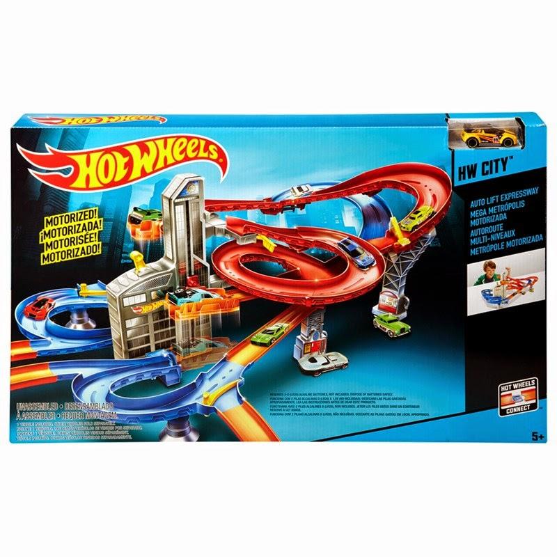 Pista Hot Wheels Conjunto Metrópole Motorizada Mattel