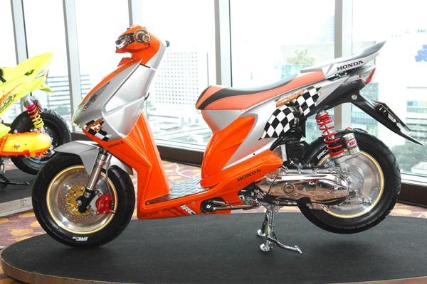 50+ Gambar Modifikasi Motor Beat 2013