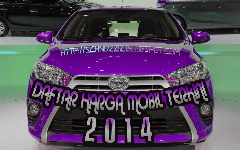 DAFTAR HARGA MOBIL TOYOTA YARIS TAHUN 2014