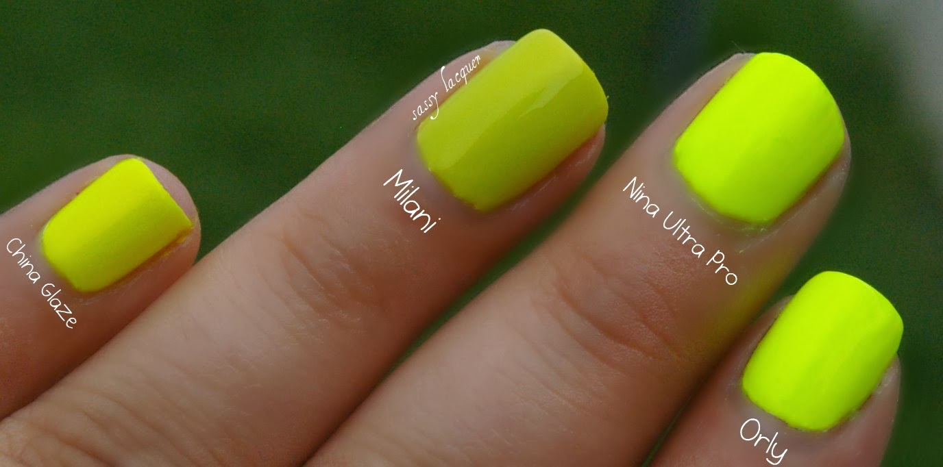 Sassy Lacquer: Summer Neon Comparisons