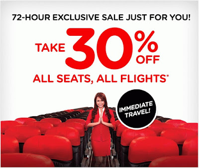 Air Asia: SURPRISE! Secret sale, just for you.