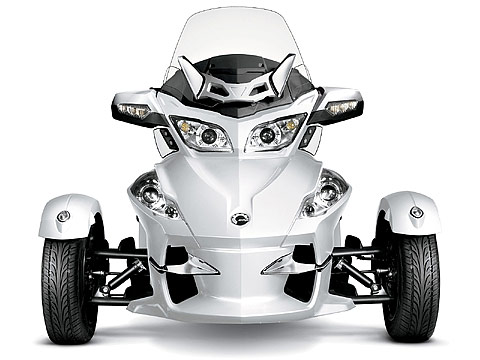 2012 Can-Am Spyder RT Limited Motorcycle Photos, 480x360 pixels