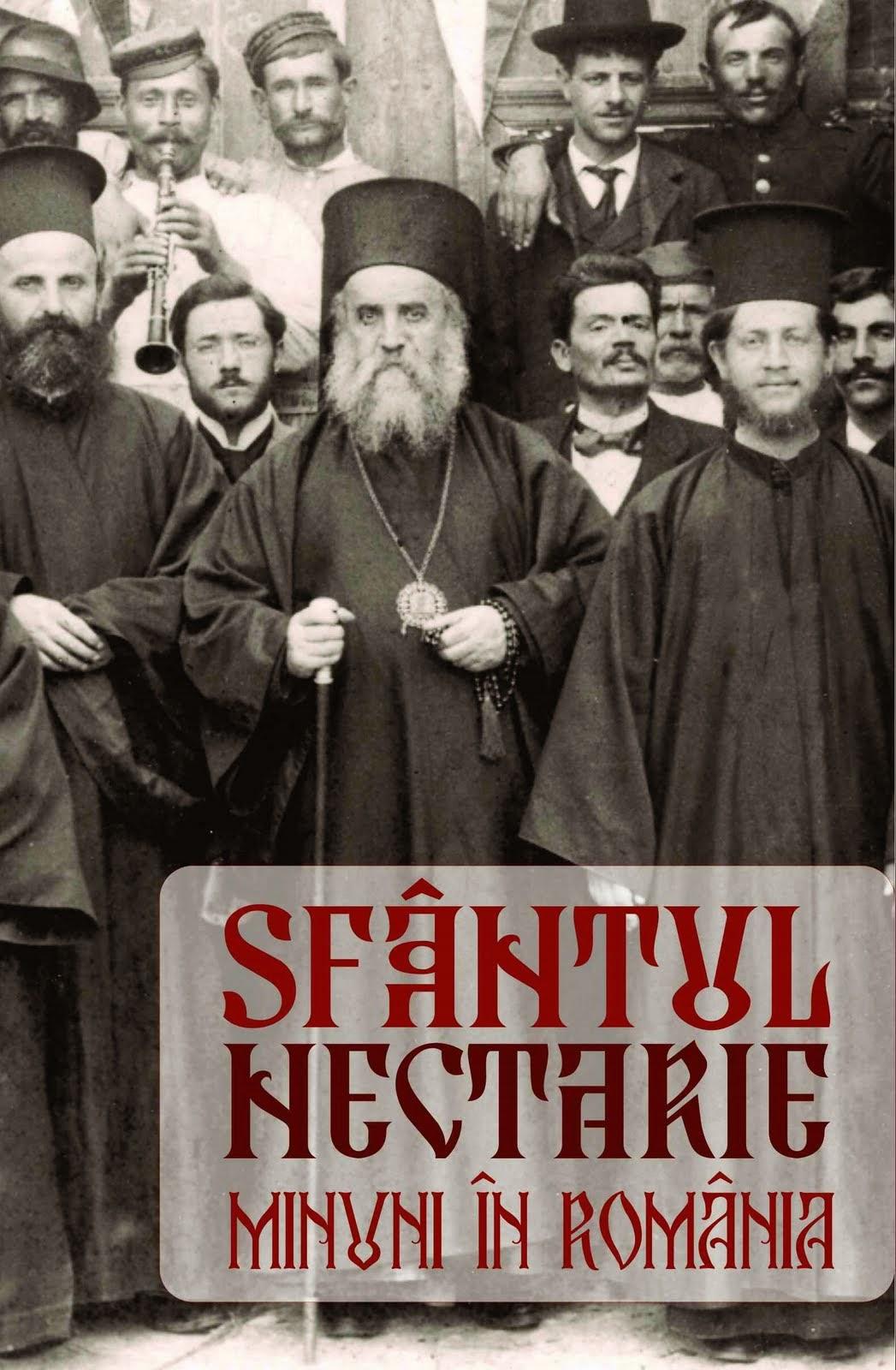 """Sfântul Nectarie - """"Minuni în România"""". De descărcat, printr-un click pe copertă"""