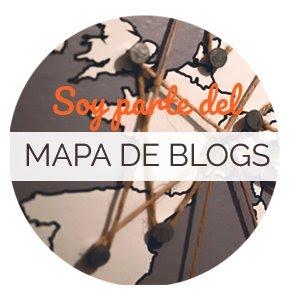 Mapa de blogs de España