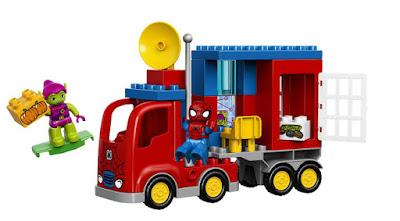TOYS : JUGUETES - LEGO Duplo : Marvel Spider-Man  10608 Spider Truck Adventure  Producto Oficial 2015 | Edad: 2-5 años  Comprar en Amazon España & buy Amazon USA