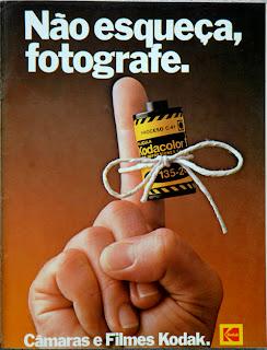 kodak.  os anos 70; propaganda na década de 70; Brazil in the 70s, história anos 70; Oswaldo Hernandez;