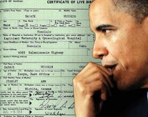Obama é INTIMADO a comprovar sua certidão de nascimento falsa