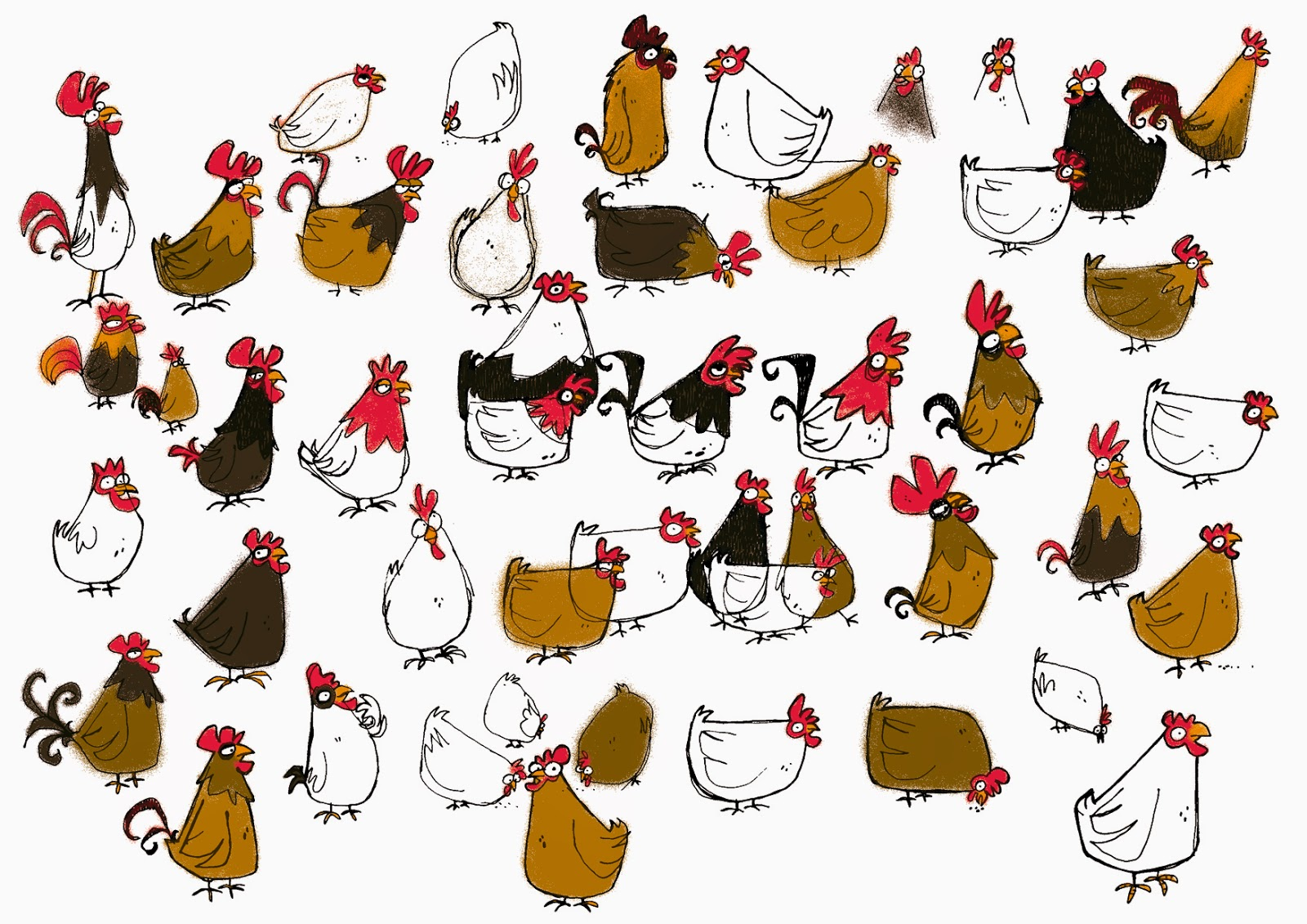 F parme famille pirate poules - Dessin anime de la famille pirate ...