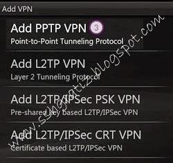 Pilih 'Enable Encryption' dan aktifkan Simpan koneksi PPTP yang sudah ...