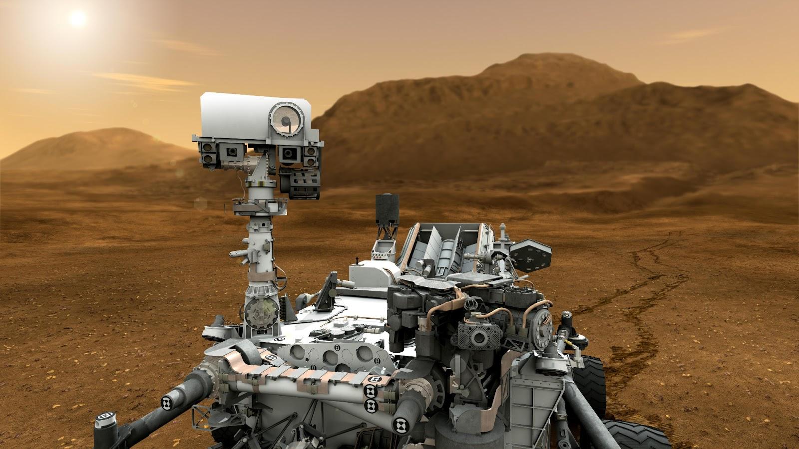 Orbiter.ch Space News: NASA Mars Rover Preparing to Drill ...