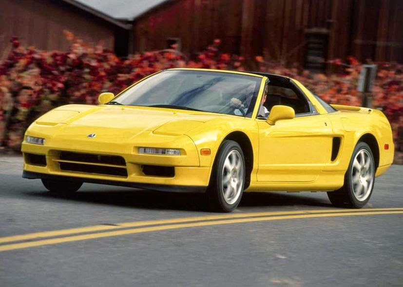 2001 Acura NSX-T Front Side View