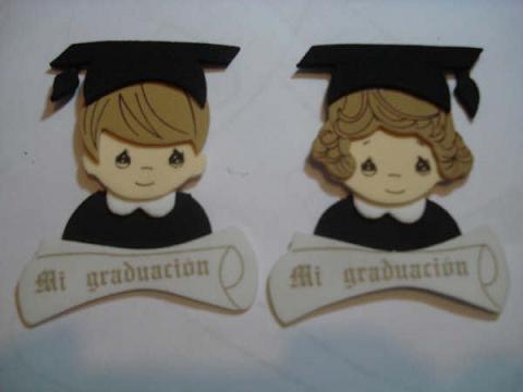 Distintivos para graduación secundaria - Imagui