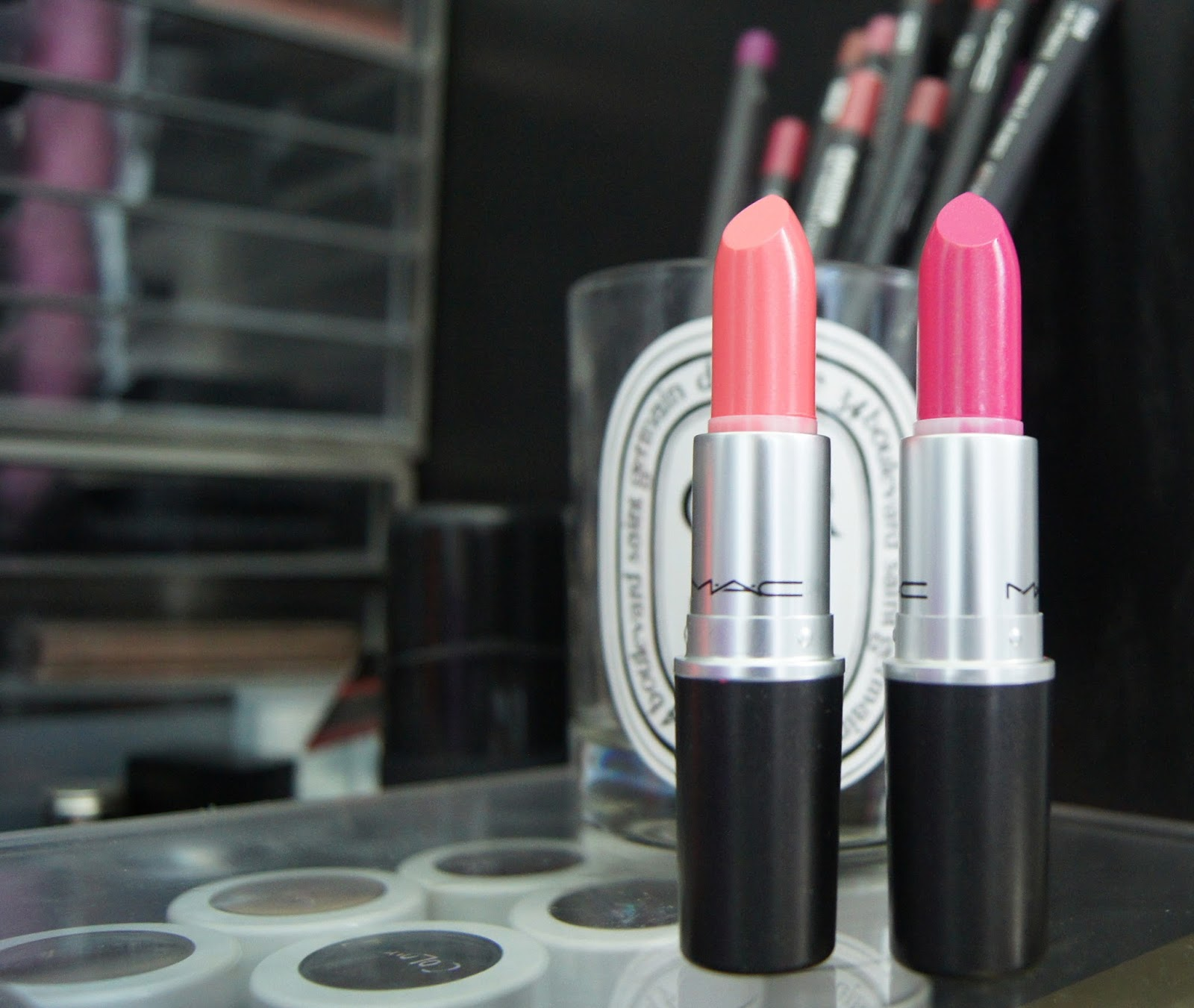 Little Buddha and Pickled Plum cremesheen pearl MAC lipsticks review