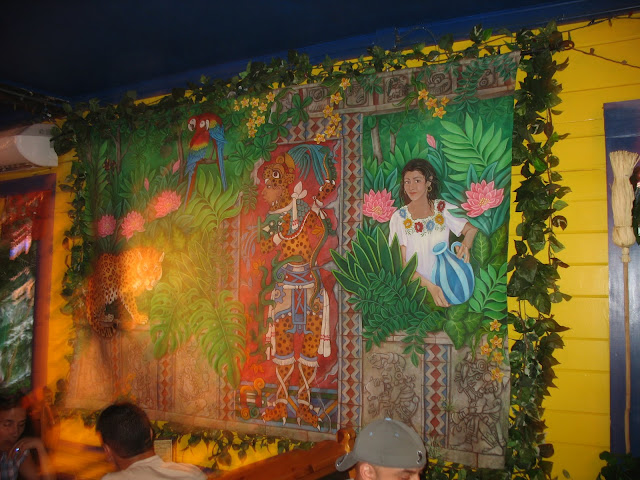 Maya Cafe decor