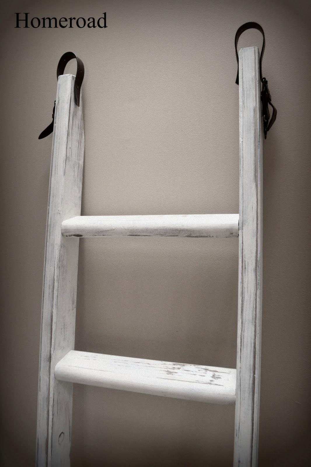 Ladder Blanket Amp Quilt Organizer Homeroad