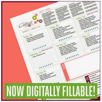 2014 Weekly Household Planner- FREE!!