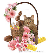 Hoppy EasterLOVE Escape Kitty. Happy Easter from Escape Kitty easter bunny basket tm