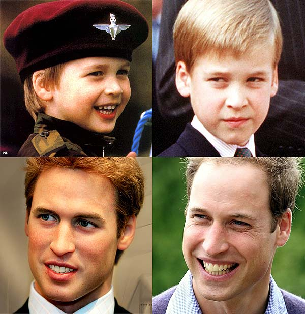 Prince William Aging, male aging