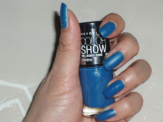 NOTD: Maybelline Denim Dash