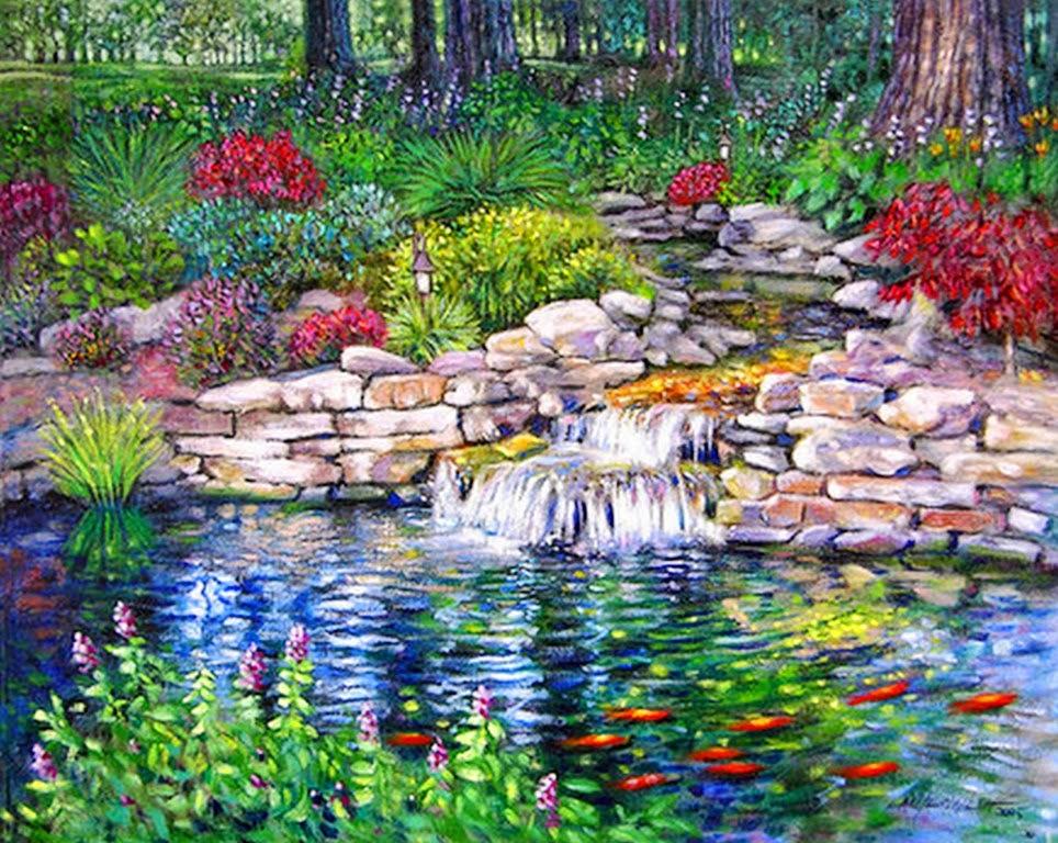 Im genes arte pinturas bonitos paisajes pintados en leo - Los cuadros mas bonitos ...