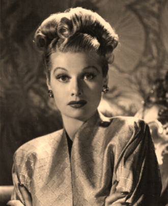 lucille ball hairstyle