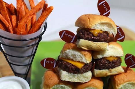 Wold Market cheeseburger sliders