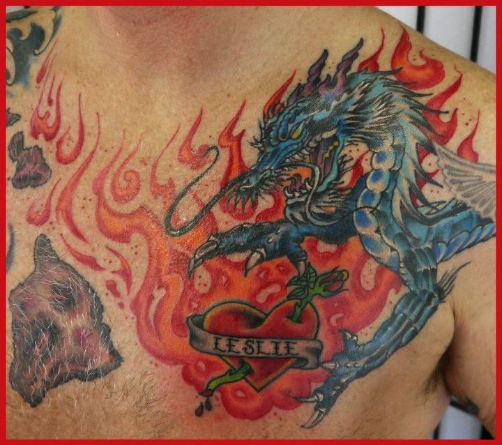 The little tattoo shoppe december 2012 for Little dragon tattoo