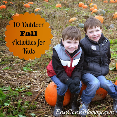 East Coast Mommy: 10 Fantastic Outdoor Fall Activities for Kids