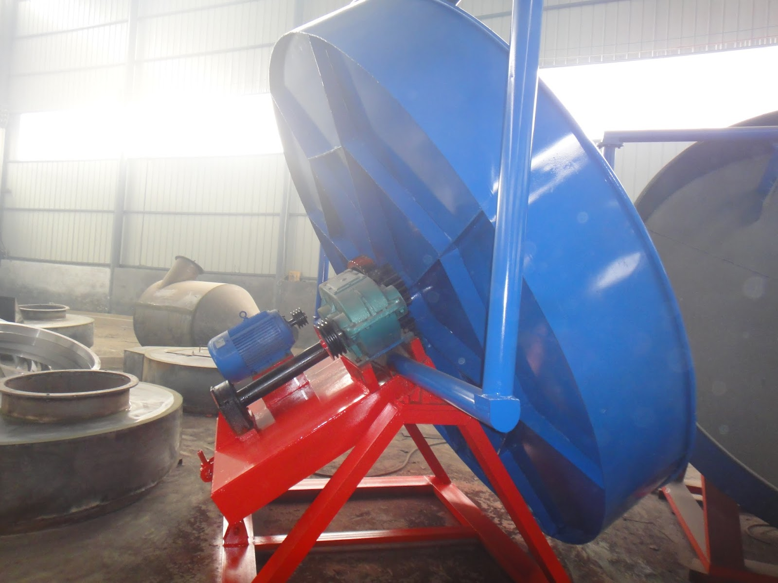 20,000 ton Organic Fertilizer Disc Granulation Production
