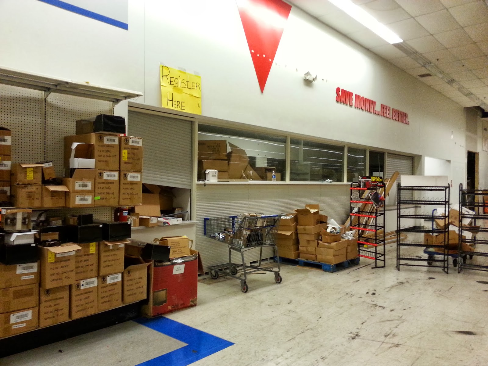 Dead and dying retail former elyria ohio super kmart for Kmart shirts for employees