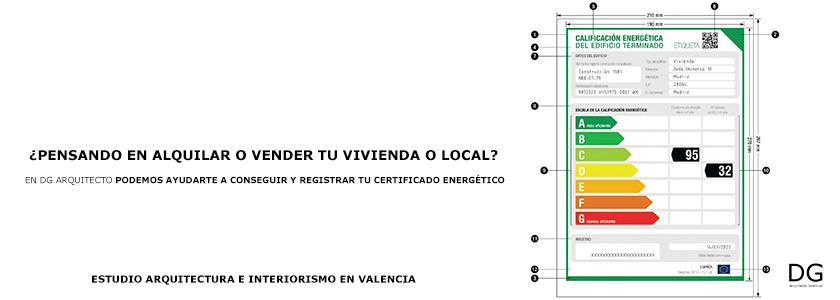 qu es el certificado de eficiencia energ tica dg
