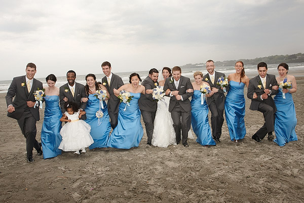 atlantic beach club: wedding photos