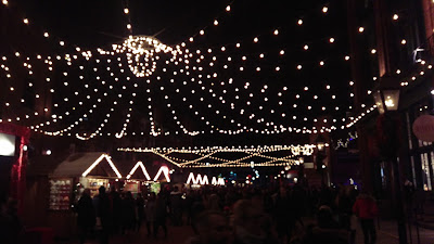 Main Road in Christmas Market