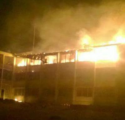 UNN hostel On Fire 5