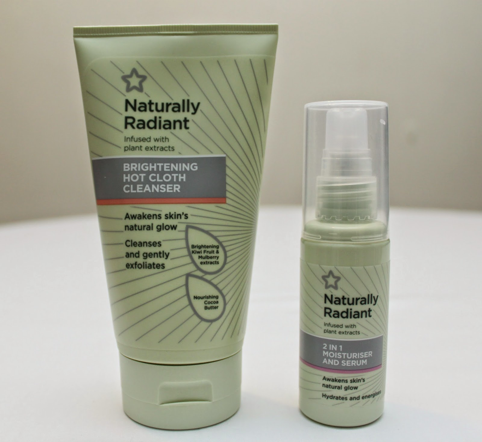 SUPERDRUG'S NATURALLY RADIANT SKINCARE