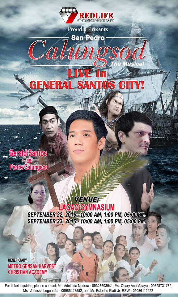 San Pedro Calungod, the Musical in Gensan