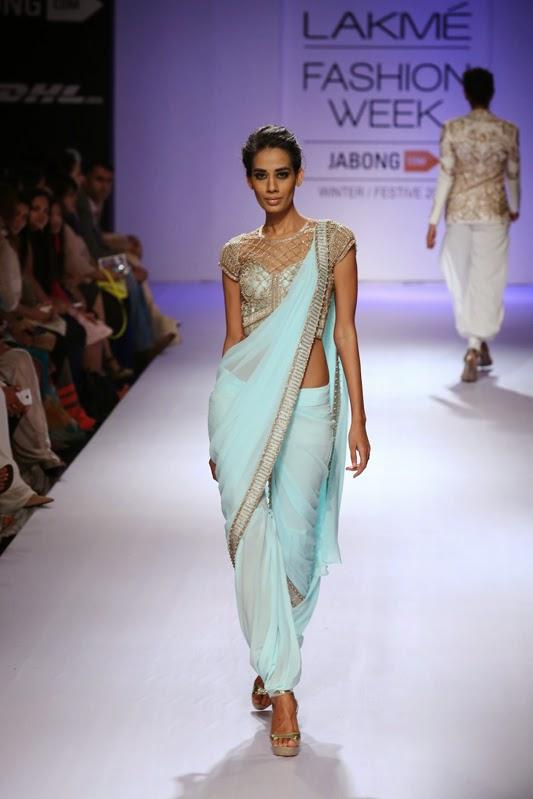 Sonaakshi Raaj Lakme Fashion Week Winter Festive 2014 Collection Pakistani Fashion Collection