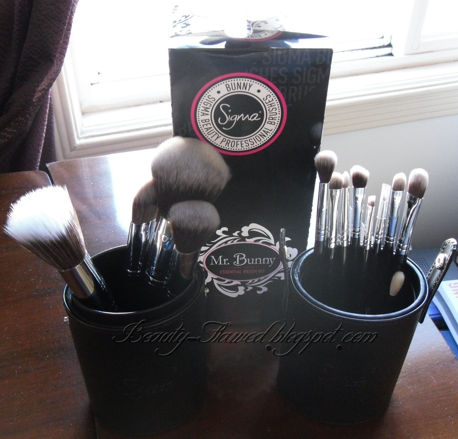 sigma brushes mrs bunny. my aunt and long list of wishlist things she decided to surprise me with a gift certificate for some specific on that list. sigma brushes ! sigma brushes mrs bunny