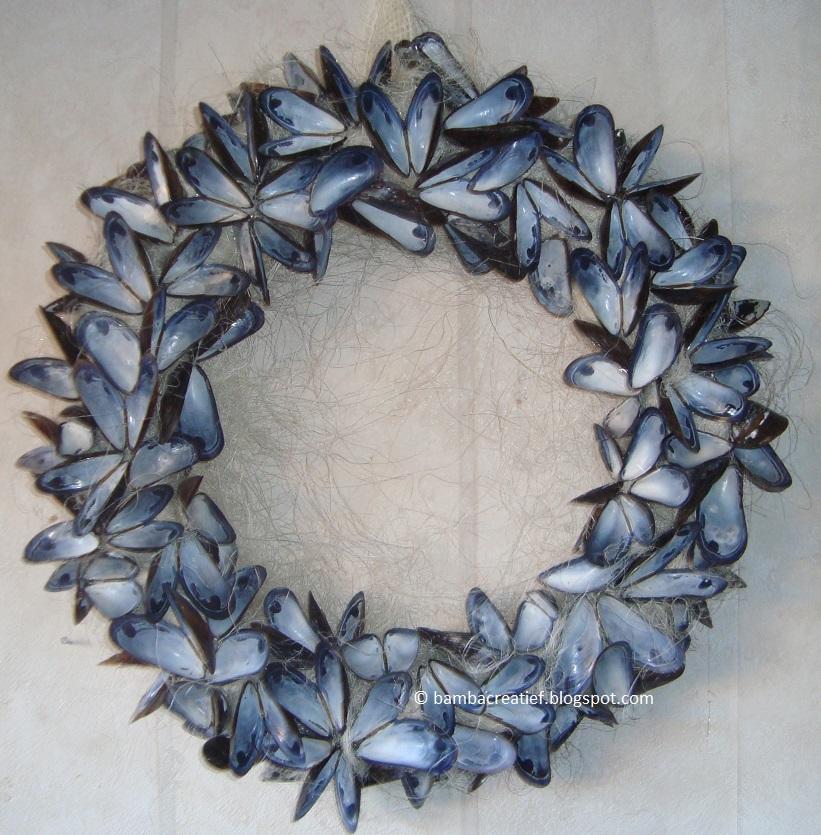 Bamba creatief mosselkrans - Ideeen van de decoratie ...