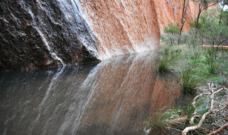 Uluru After Rains, Copyright 2012 Rev. Dr. Roxie Hart, used with permission