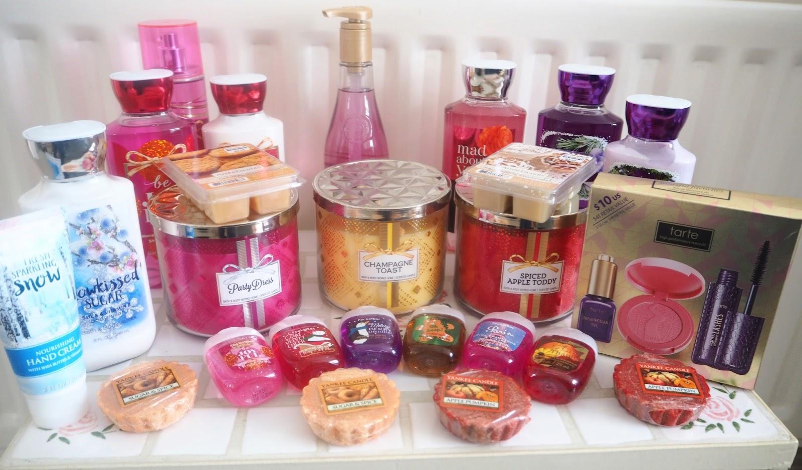 New York Haul: Bath & Bodyworks, Yankee Candle, Tarte Cosmetics | Katie Kirk Loves