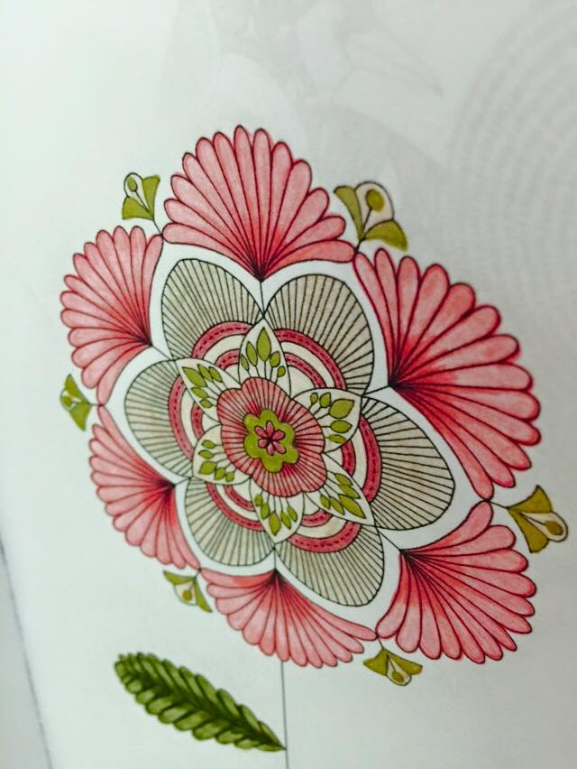Kolorista Flower Colouring Book