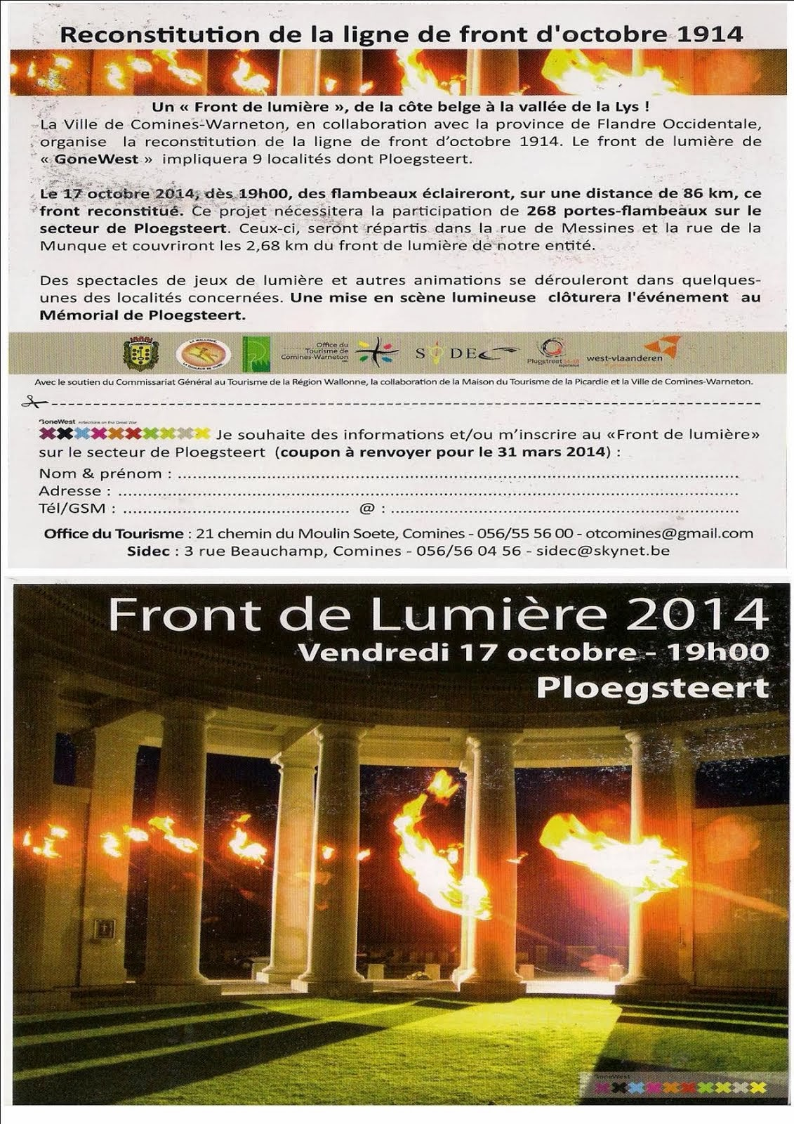 17 OCTOBRE RECONSTITUTION 14-18