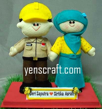 Boneka couple saputra
