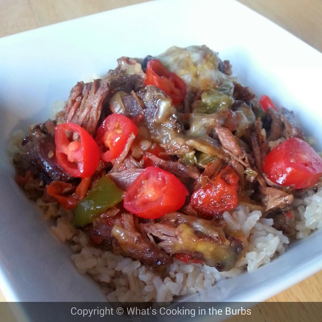 slow cooker beef fajita bowls