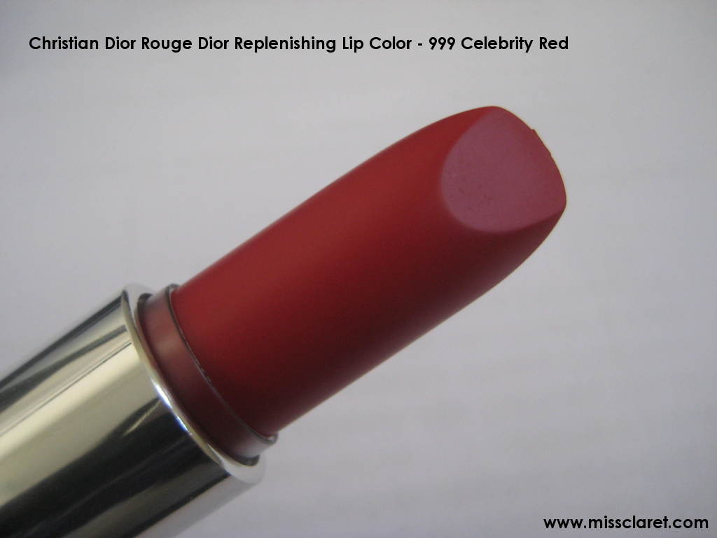 Dior Rouge Dior 999 Celebrity Red reviews, photo filter ...
