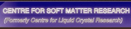 Centre for Soft Matter Research (CSMR) Logo