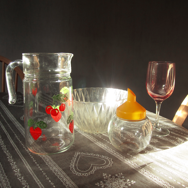 Old things - Vintage - verre - http://spicerabbits.blogspot.fr/