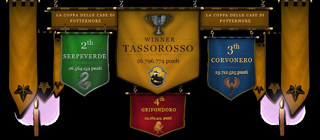 Tassorosso vince l'ottava e ultima Coppa delle Case!