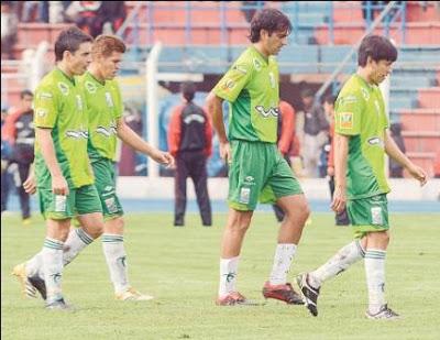 Oriente Petrolero - Hoyos, Aguirre, Caamaño, Joselito - Club Oriente Petrolero